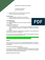 FUNCIÓN LINEAL. SISTEMAS DE ECUACIONES