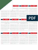 Template Kalender 2019 [X4]