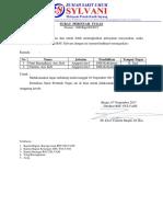 Surat Perintah Tugas Orientasi