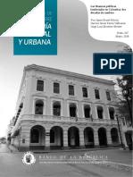 Las Finanzas Territoriales en Colombia