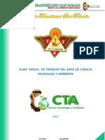 PLAN ANUAL DE TRABAJO  DE CTA