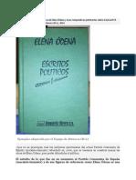 Sobre la adquisición de las obras de Elena Ódena y unas comparativas pertinentes sobre el actual PCE.doc