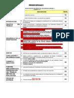Lista de Cotejo Unidad 1 Equipo # 6 Metodos de Soldaduras
