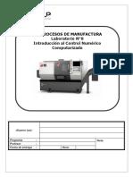 Laboratorio 7 Introducción Al CNC