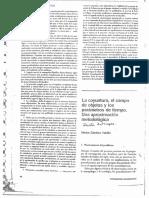 Sánchez, N. - La Coyuntura, El Tiempo Del Objeto Ylos Parametros Del Tiempo