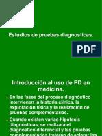 Estudios Descriptivos Pruebas Diagnósticas