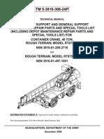 TM-5-3810-306-24P Grove 40 Tons Parts Manual