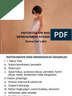 FAKTOR-FAKTOR YANG MEMPENGARUHI KEHAMILAN.ppt