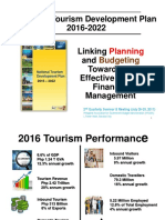 2nd Quarterly Seminar & Meeting on National Tourism Development Plan 2016 2022
