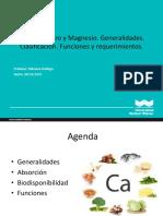 Clacio Fosfor y Magnesio CLASE_10-_2018-II