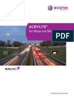Acrylite for Noise Barriers Brochure