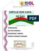 Informe de Empuje Por Gas