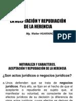 06 La Aceptacion de La Herencia