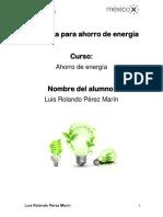 Propuesta ahorro de energia Luis Pérez