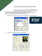 369623132-Tutorial-Autocad-3d-Membuat-Landscape-Exterior-Taman-Depan.docx