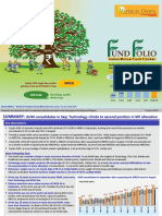 FUND FOLIO - Indian Mutual Fund Tracker - October 2018