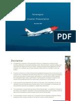 Norwegian Air Shuttle Roadshow