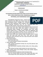 Pengumuman Pelaksanaan Seleksi Kompetensi Dasar CPNS Kemendesa PDTT TA 2018 (1)