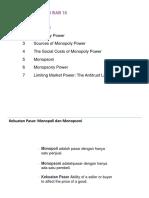 Bab 10 Kekuatan Pasar (Monopoli dan Monopsoni).pptx