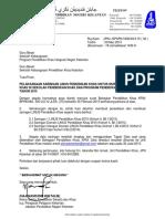Surat Pelaksanaan LINUS 2015