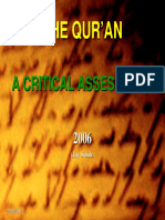 Qur'an Critique PPT Short
