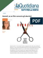 Gosnell, Se Un Film Converte Gli Abortisti