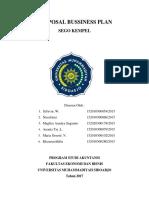Proposal Bussiness Plan