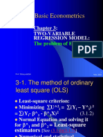 4basic Econometrics Chapter III