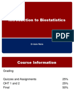 Intro to Biostats 2013 1