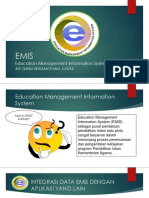 Teknis EMIS Semester Ganjil TP 2018-2019