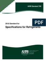 AHRI Standard 700-2016