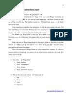 20 Soal Latihan Report Text Dalam Bahasa Inggris