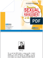 Model Sexual Harassment Prevention Policy pg 33 onwards