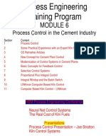 Mod 6-Process Control in the Cement Industry