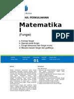 Modul Matematika I [TM1]