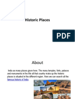 Famous Historic places