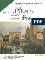 Actos Culturales Caudete 1982 (Óleos de Perezgil)
