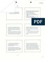 Insurance Organizational Structure and Operations