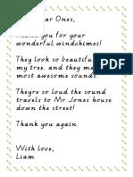 dear year ones thank youpdf