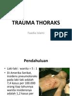 Trauma Thoraks ppt