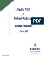 Atex y Modos de Proteccion Enero Fy07