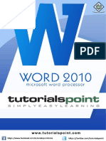 Word Tutorial