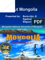 About Mongolia in brief