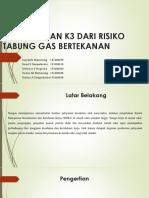 Penanganan k3 Dari Risiko Tabung Gas Bertekanan