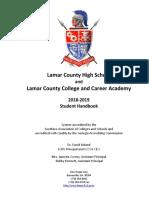 2018-19 LCHS Student Handbook