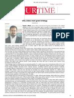 Why States Need Grand Strategy _Sarwar J. Minar