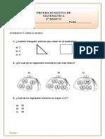 Unidad 4 Matematica 2do Basico