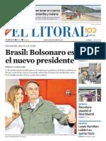 El Litoral Mañana | 29/10/2018