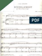 Noel Gallon Recueillement Orgelstimme (1)