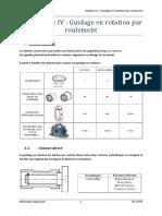 Chap IV Guidage en Rotation